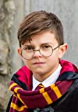 Licensed Deluxe Wire Harry Potter Costume Accessory Glasses for adults and kids