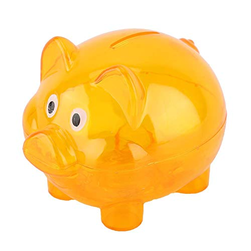 Piggy Bank, Pig Cute Transparent Ba…