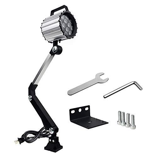 Led Work Lights Table Lamp Long Arm Machine Light Multipurpose Waterproof Lathe Drill Work Light 12W 220V
