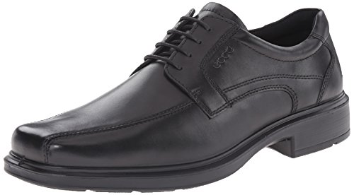 Black Leather Shoes for Men With Lace Global