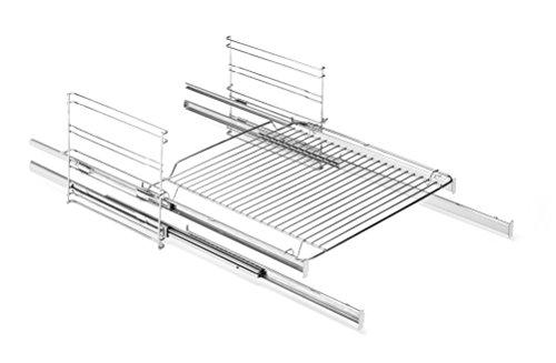 Amica 73 Backofen und Herdzubehör/Kochfeld/Setzt ein im Gerät voraus/Seitengitter mit 2-fach Teleskopauszügen, davon 1 Vollauszug