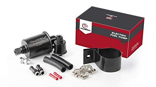 CarBole HEP-02A Bomba de combustible eléctrica universal de baja presión en línea diésel de gasolina