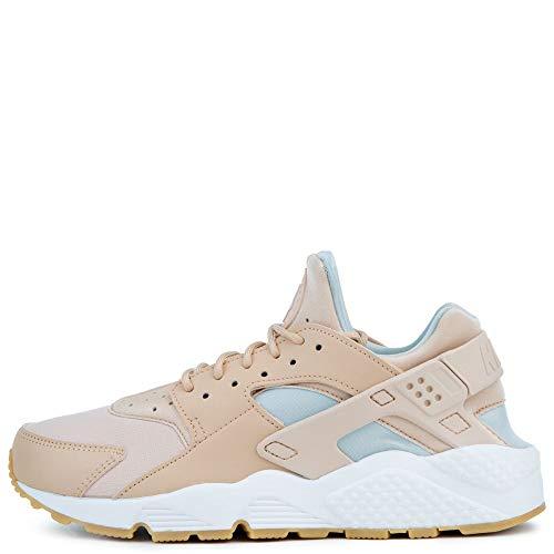 Nike Damen WMNS AIR Huarache Run Multisport Indoor Schuhe, Mehrfarbig (Bio Beige/Summit weiß/Light Silver 204), 36 2/3 EU