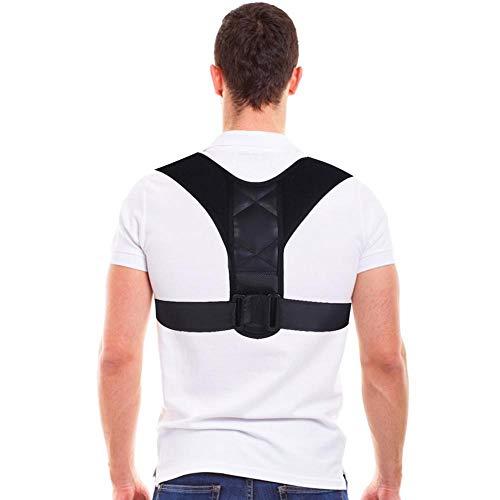 Back Posture Corrector Stützgürtel, Figur 8 Shaped entwickelt verstellbare Clavicle Brace Band, hilft Männern und Frauen, die Haltung zu verbessern, zu verhindern, Linderung und Entlastung Rückenschme