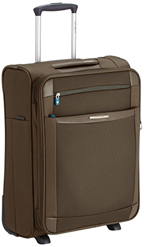 Samsonite Dynamo Upright 55/20 Espandibile Bagaglio a Mano, Poliestere, Natural, 48 ml, 55 cm