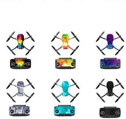 Taoric Proteggi corpo e adesivo adesivo impermeabile in PVC per DJI Mavic Mini Drone, 6 colori