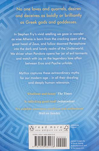 Mythos: The Greek Myths Retold (Stephen Fry's Greek Myths)