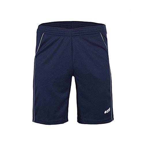 IVAN AD Tennisshorts (kurz) mit Hosentaschen von Erreà · HERREN Sporthose für Tennis, Tischtennis, Schwimmen, Freizeit und viel mehr · (Farbe marineblau-weiß, Größe M)