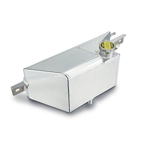 Heinmo Direct Alliage Réservoir Collecteur en aluminium Radiateur liquide de refroidissement trop-plein du réservoir Vr38dett Peut pour 09–17 GTR R35 Argent