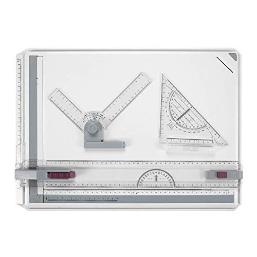 BATHWA A3 Tablero de Dibujo, 50.5 x 37cm Multifunción Colle