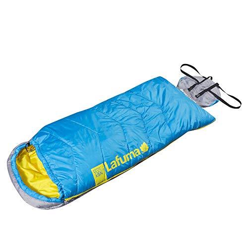"""Lafuma lfc1605–Saco de dormir unisex, LFC1605, azul eléctrico, derecha, 162 cm/64\"""""""