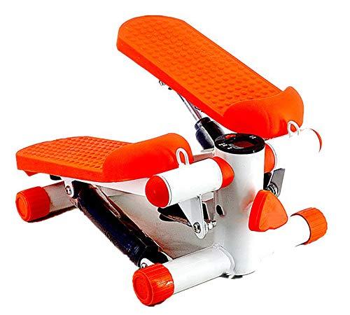 Uitgerust met stille loopband thuis mini afvallen multifunctionele pedaal fitnessapparatuur Steppers,Orange