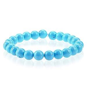 Turquoise Bracelet, Balance Bracelet, Unisex Bracelet, Yoga Bracelet Chakra Bracelet, Blue Gemstone Bracelet, Turquoise Jewelry Genuine natural stone bracelet, semi precious stone bracelet Gift