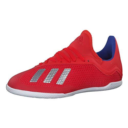 Adidas X 18.3 In J, Botas de fútbol Unisex Adulto, Multicolor (Multicolor 000), 36.5 EU