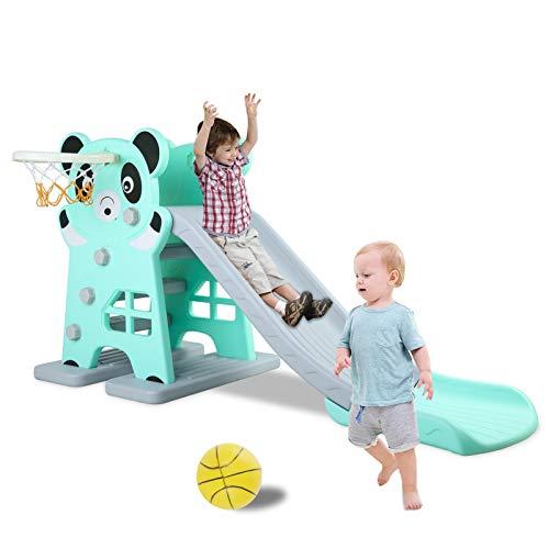 LAZY BUDDY Kids Slide, Sturdy Toddler...