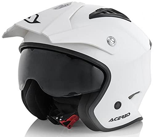 Acerbis 0022569.030.066 Casco, Blanco, L