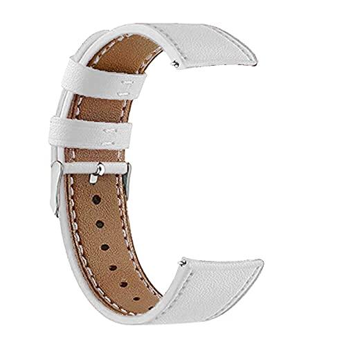 Wenyounge Banda de Repuesto de 22 mm de Ancho - Pulsera de Cuero con Correa de Reloj Inteligente para Reloj OnePlus