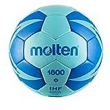 Molten Ballon DE Handball HX1800 2019-20 (Taille 1, Iced Aqua/Roy)