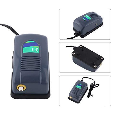 takestop® luchtpomp luchtbruismaker DN-248 Aquarium 1 uitgang 3 W 3,5 l/min 0,02 pa 2 snelheidsniveaus, luchttoestel, oogststreep