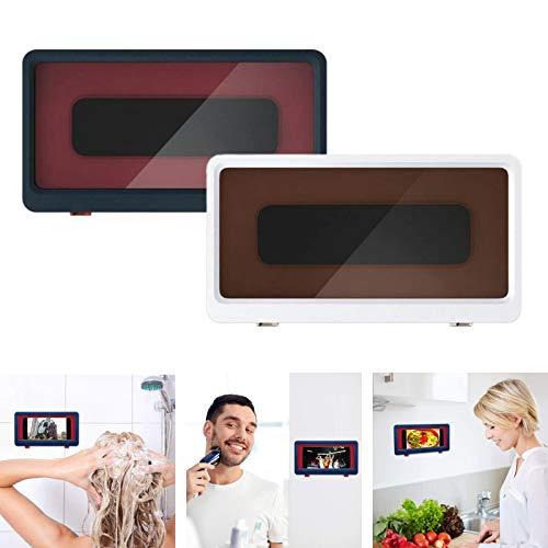 OQSM ducha pro-mountable caso Ducha teléfono titular montaje de pared para baño aseo cocina (2PCS)