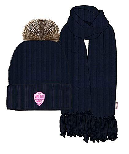 Vingino meisjes 2-delig Winterset muts sjaal Vesna Dark Blue cadeauverpakking
