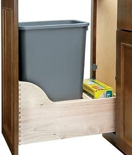 Rev-A-Shelf 35 Quart Single Waste Unit with Tandem Soft Close and Servo Drive