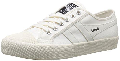 Gola Damen Coaster Sneaker, Elfenbein (Off White/Off White Ww White), 37 EU