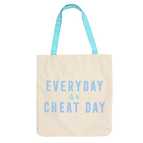 Something Different Everyday Is A Cheat Day Einkauftasche (Einheitsgröße) (Blau)