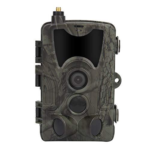 Impermeable al aire libre 16MP 1080 p 2G visión nocturna Caza Trail Cámara de vídeo con batería 1080 p Caza Cámara