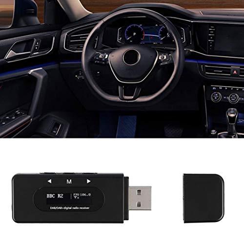 YSHTAN DAB Ontvanger Auto Radio's Accessoires Adapter USB Interface Auto DAB Digitale Radio Audio Ontvanger FM-zender met Antenne
