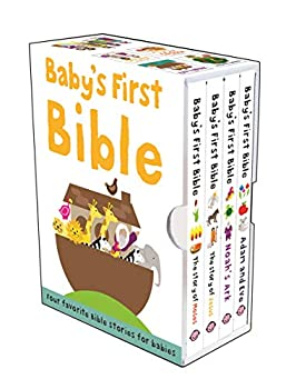 Baby s First Bible Boxed Set  The Story of Moses The Story of Jesus Noah s Ark and Adam and Eve  Bible Stories