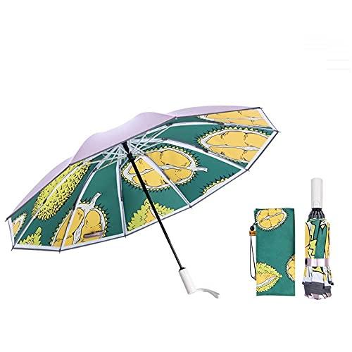 Bar para hombres de paraguas inverso automático, paraguas s