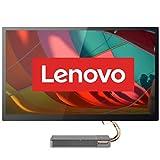Lenovo IdeaCentre AIO 5i 68,58 cm (27 Zoll, 2560x1440, WQHD, entspiegelt) All-in-One Desktop-PC (Intel Core i7-10700T, 16GB RAM, 1TB SSD, DVD-Brenner, NVIDIA GeForce GTX 1650, Windows 10 Home) grau