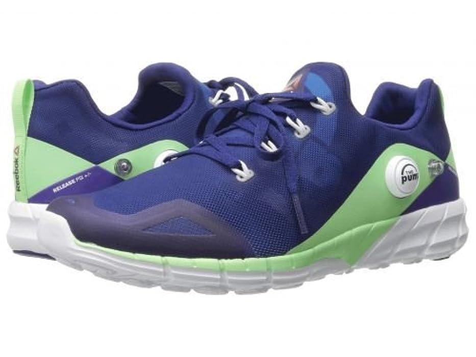 治安判事胚壊滅的なReebok(リーボック) レディース 女性用 シューズ 靴 スニーカー 運動靴 ZPump Fusion 2.0 - Night Beacon/Electric Blue/Seafoam Green/White [並行輸入品]