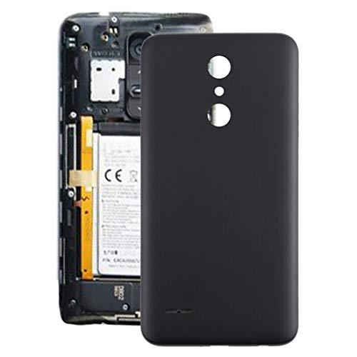 Caparazón de Vuelta batería del teléfono móvil La batería de la contraportada for LG K30 / K10 (2018) / X410 LMX410 LMX410TK (Negro) (Color : Black)