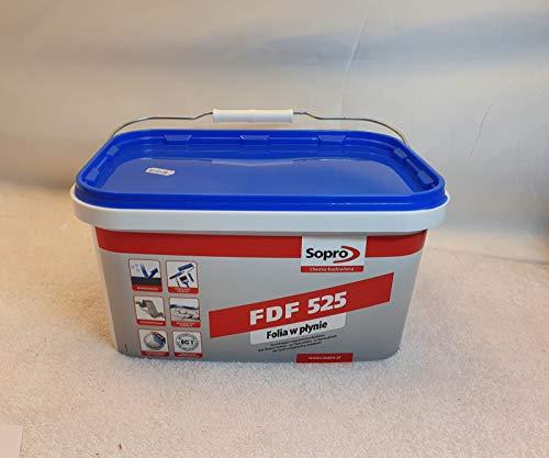 Sopro Flächendicht flexibel FDF, grau, Eimer 5 kg