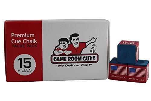 Game Room Guys Premium Blue Pool Cue...
