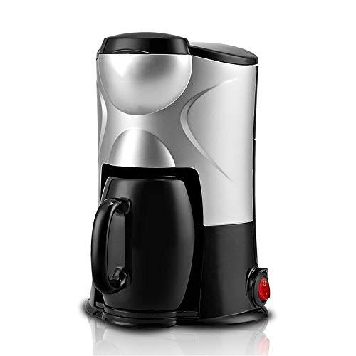 Yingm Barista Kaffeemaschine Kleiner beweglicher Zuhause-Becher Latte Kaffeevollautomat Latte Cappuccino Americano (Farbe : Black, Size : Free Size)