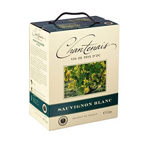Dineart Chantenais Sauvignon Blanc fruchtiger französischer Weisswein Bag Trocken (1 x 3 l)