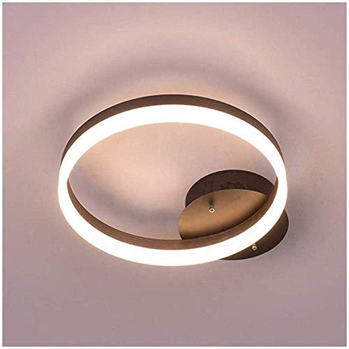 PLLP Lámpara de araña decorativa para el hogar, lámpara de techo minimalista moderna Lámpara de hierro forjado Lámpara de decoración de comedor de dormitorio con atenuación LED Neutral_Light a,Luz ne