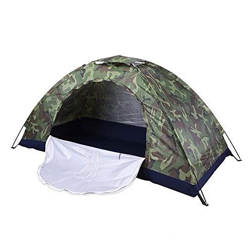 DEDC Tienda de Campaña Impermeable, Una Persona Camuflaje Pesca Caza, Tienda para Acampar Senderismo, UV, Impermeable