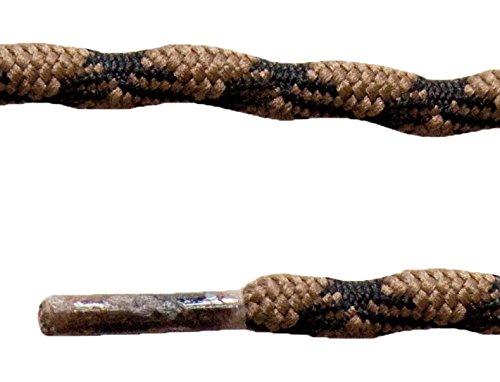 Altus 6900008133 - Par Cordones de 150 cm, antiperdida, Unisex, Color marrón, Talla única