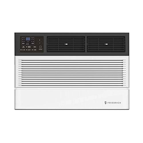 Friedrich CEW24B33A Chill Premier Smart Air Conditioner Window Unit, WiFi Mobile Control, White, Heating & Cooling Capacity (24000 BTU)