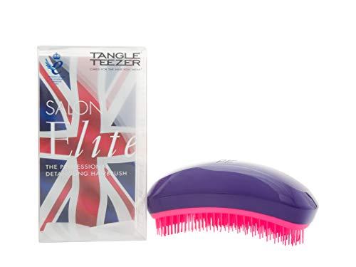 Tangle Teezer Salon Elite Hair Brush, Purple Crush | Professional Wet & Dry Detangling...