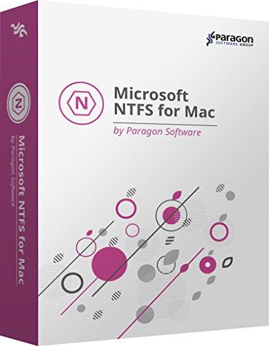 Microsoft NTFS for Mac by Paragon Software (versions anglaise, française, italienne, espagnole, allemande) Accesso completo in lettura-scrittura garantito!