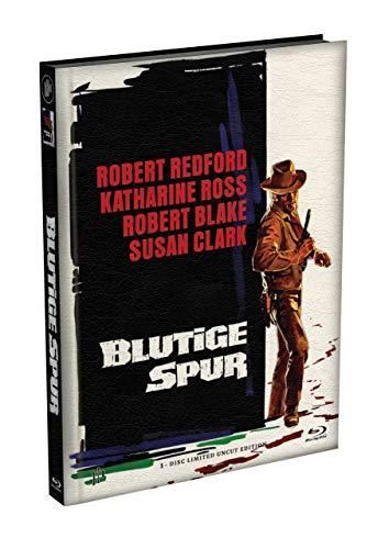 BLUTIGE SPUR - Wattiertes Mediabook Cover A [Blu-ray] Limited 149 Edition