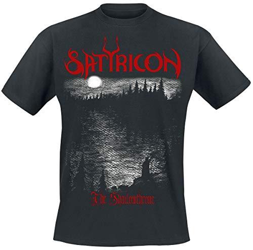 Satyricon Shadowthrone Männer T-Shirt schwarz M 100% Baumwolle Band-Merch, Bands