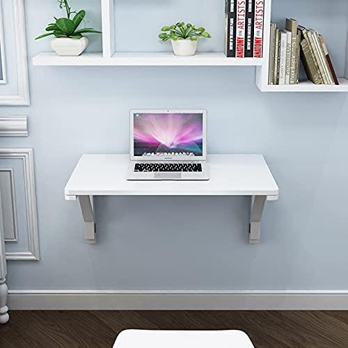 Wall-mounted table Mesa Plegable Blanca De Madera Maciza Mesa De Comedor Pequeño...