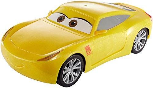 Cars 3- Cruz rapida Coche Interactivo luz y Sonidos, 25 cm (Mattel FGN59)