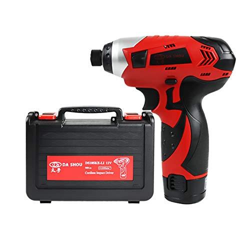 Mini destornillador de mano Destornillador eléctrico inalámbrico Taladro eléctrico multifunción Interruptor de...